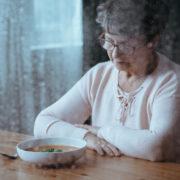 Senior Having Lack Of Appetite