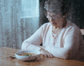 Senior Having Lack Of Appetite